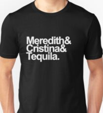 Meredith & Cristina & Tequila Slim Fit T-Shirt