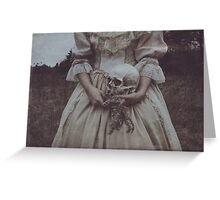 Nature Sufficeth unto Herself Greeting Card