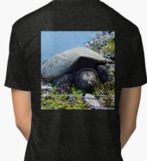 Snapping Turtle Tri-blend T-Shirt