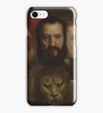 Tiziano Vecellio, Titian - An Allegory of Prudence iPhone Case/Skin