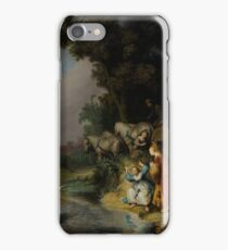 Rembrandt Harmensz van Rijn - The Abduction of Europa  iPhone Case/Skin