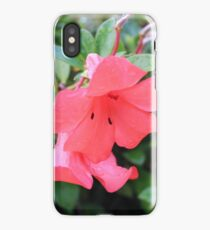 Pretty Vireya in flower after the rain iPhone Case/Skin