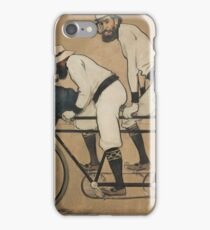 Ramon Casas - Ramon Casas and Pere Romeu on a Tandem 1897 iPhone Case/Skin