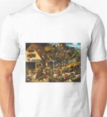 Pieter Bruegel the Elder - The Dutch Proverbs  T-Shirt