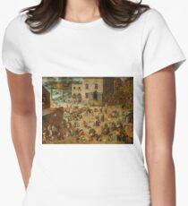 Pieter Bruegel the Elder - Children's Games  T-Shirt