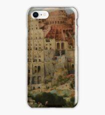 Pieter Bruegel the Elder  - The Tower of Babel  iPhone Case/Skin