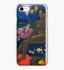 Paul Gauguin - The Seed of the Areoi  iPhone Case/Skin