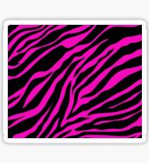 Zebra Pattern (pink) Sticker