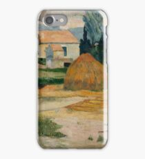 Paul Gauguin - Landscape near Arles . Provence iPhone Case/Skin