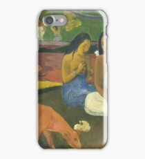 Paul Gauguin - Arearea 1892 Landscape  iPhone Case/Skin