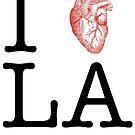 I Love LA - version 2 by hazelbasil