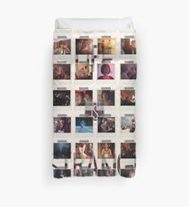 Wall of pictures Duvet Cover
