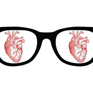Heart Glasses by hazelbasil
