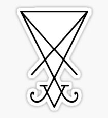 Sigil of Lucifer Sticker