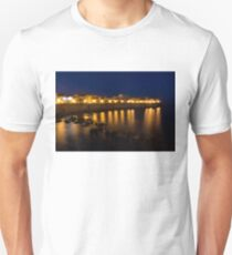 Royal Blue and Gold - Syracuse, Sicily from the Sea Promenade T-Shirt