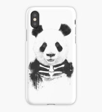Zombie panda iPhone Case/Skin