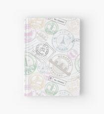 Stamp travel Hardcover Journal