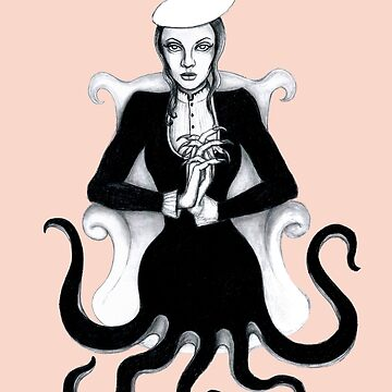 Octopus Woman by poisontree