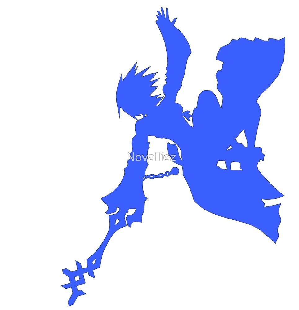 Kingdom Hearts Aqua by Novalliez