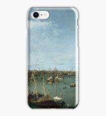 Canaletto Bernardo Bellotto - Bacino di San Marco, Venice about 1738 iPhone Case/Skin