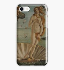 Botticelli  - The birth of Venus 1483 - 1485 Woman Portrait Fashion iPhone Case/Skin