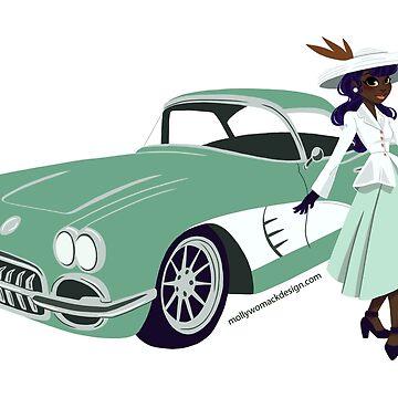 Retro Roadette Rosemary by mollykpw11
