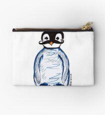 Penguin Mustache Studio Pouch
