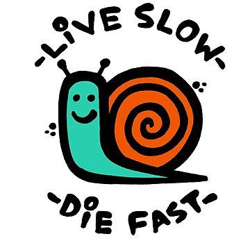 Live Slow Die Fast by KRAPUUL