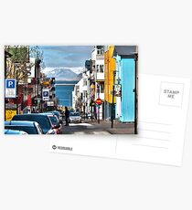 Streets of Reykjavik Postcards