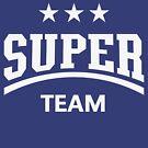 Super Team (White) by MrFaulbaum