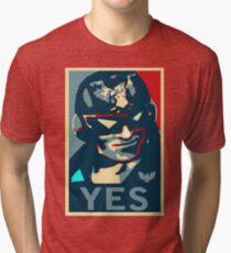 Captain Falcon (YES Meme) Tri-blend T-Shirt