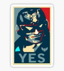 Captain Falcon (YES Meme) Sticker