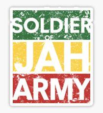 Soldier of JAH Army Sticker