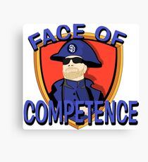 FACE of Competence Canvas Print