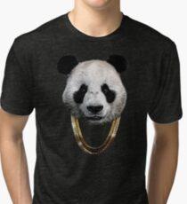 Panda_Large Tri-blend T-Shirt