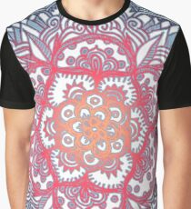Radiant Medallion Doodle Graphic T-Shirt