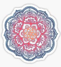 Radiant Medallion Doodle Sticker