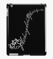Bicycle road inver iPad Case/Skin