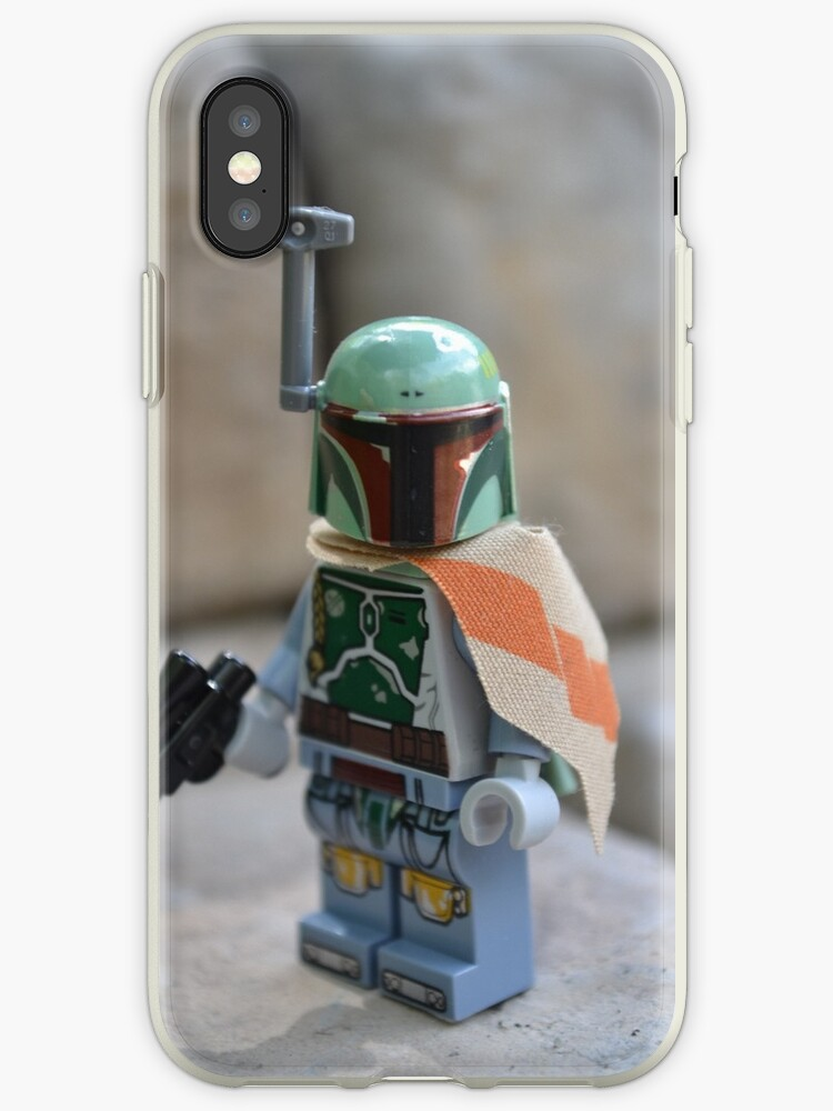 Lego Star Wars Boba Fett Iphone Cases Covers By Legosdr95 Redbubble