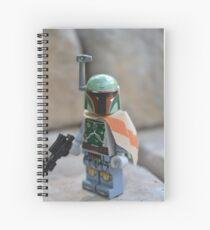 Lego Star Wars Boba Fett Spiral Notebook