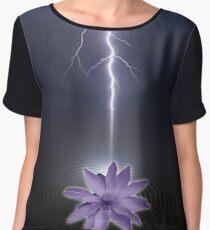 lotus love Women's Chiffon Top