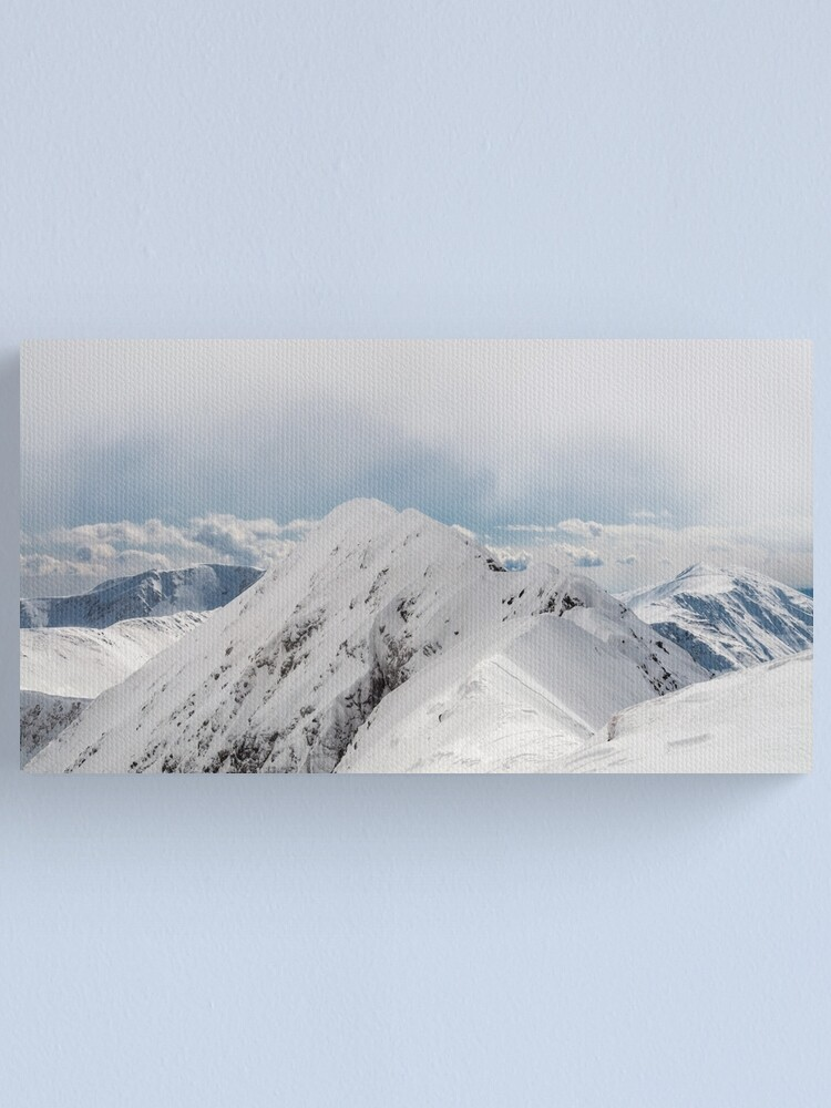 Alternate view of One more of the summit Canvas Print