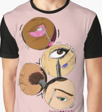 I love my Makeup Graphic T-Shirt