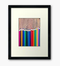 Colorful life 5 Framed Print