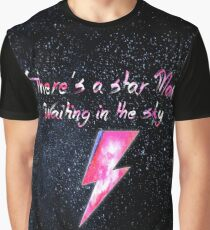 David Bowie - Ziggy Stardust Design Graphic T-Shirt