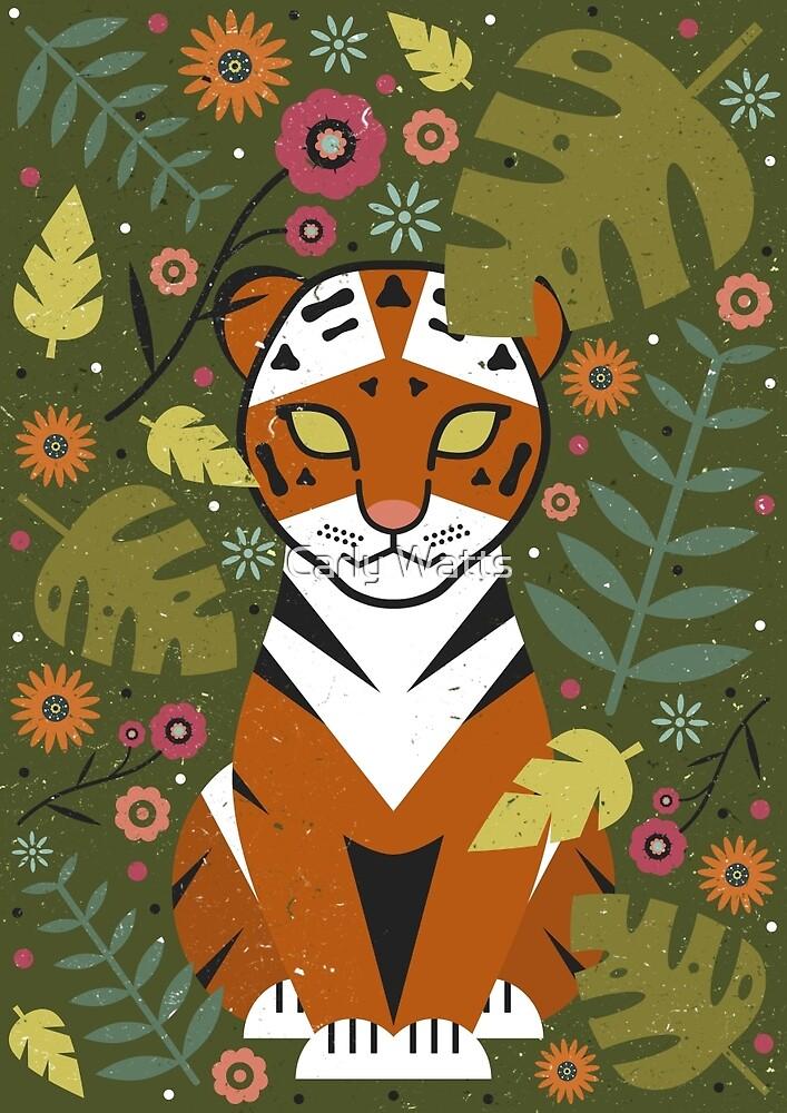 Tiger Cub by Carly Watts
