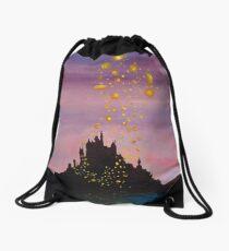 Lanterns Drawstring Bag