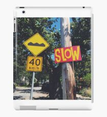 Drive Slow iPad Case/Skin