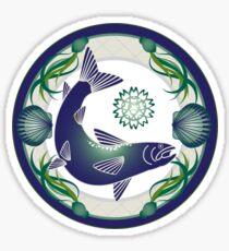 Salmon Sticker