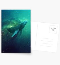 Cosmic Whale Postcards